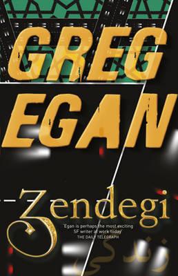 Greg Egan - Zendegi Book Cover