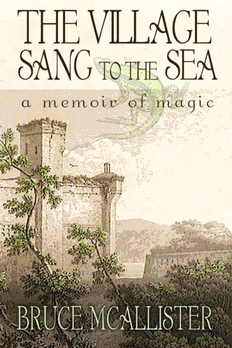 The Village Sang to the Sea, a new novel by Bruce McAllister, published by Aeon Press in 2013.