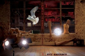 A Glimpse of the Numinous by Jeff Gardiner, Front Cover - Small