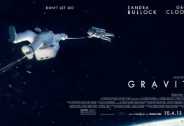 Gravity, directed by Alfonso Cuaron