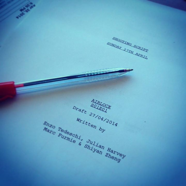 Airlock Shooting Script